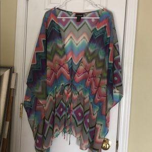 Colorful kimono!